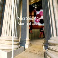 Merck Microbiology Manual