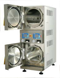 space saving autoclave