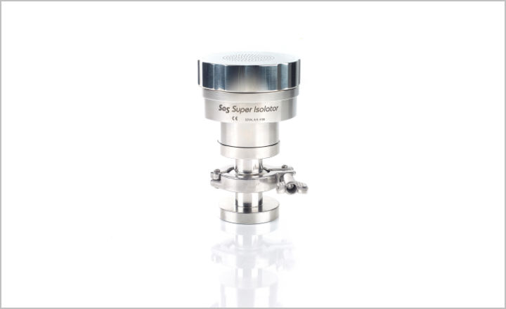 New SAS Tri-Clover Isolator Head for Microbial Air Sampler from Cherwell Laboratories