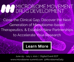 Microbiome Movement Drug Development Summit