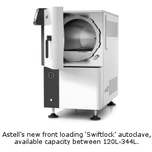 Astell Swiftlock Autoclave