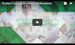 Concept range of anaerobic workstations