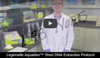 DNA extraction for Legionella testing