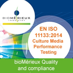 Culture Media Performance Testing ISO 11133: 2014