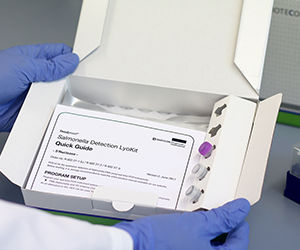 Detect Salmonella in food by PCR