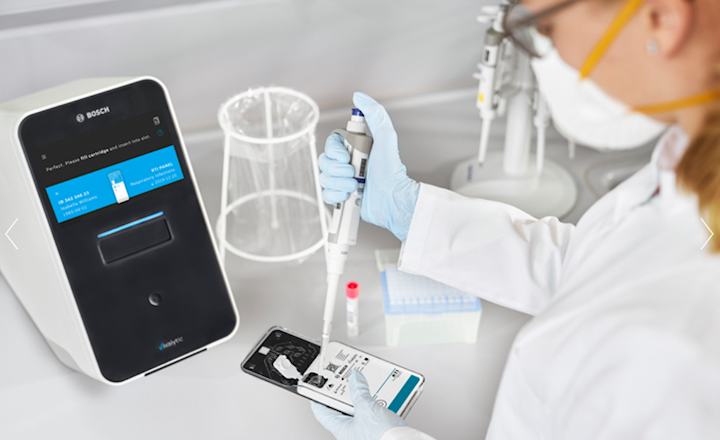 Vivalytic all-in-one solution for molecular diagnostics