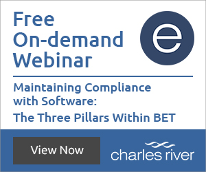 Free on-demand webinar - maintaining compliance with software: the three pillars within BET
