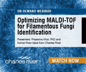 Charles River on demand webinar MALDI-TOF for Filamentous Fungi ID