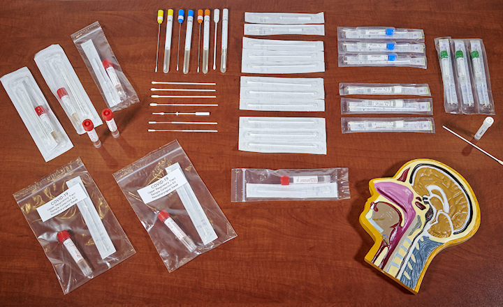 Rapidmicrobiology Sample Collection And Swab Types For Covid 19 Testing