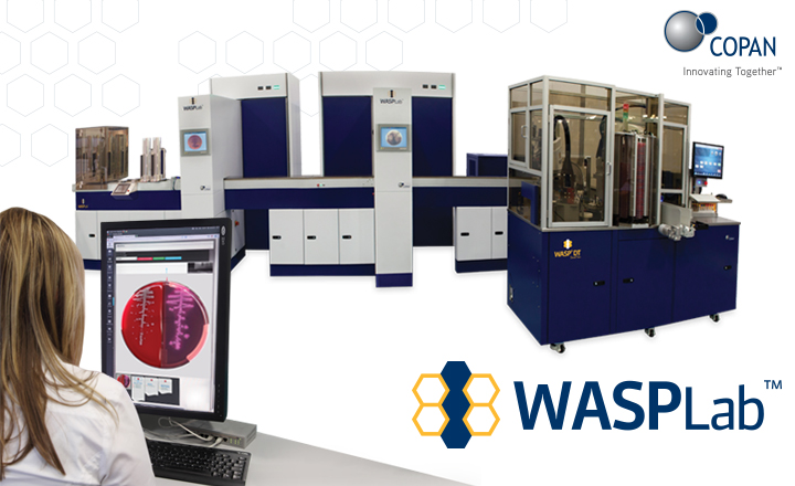 Copan Wasp DT full lab automation and artificial intelligence