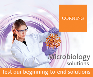 Complete range of microbiology consumbables from Corning