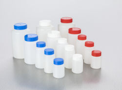 sample bottles - round