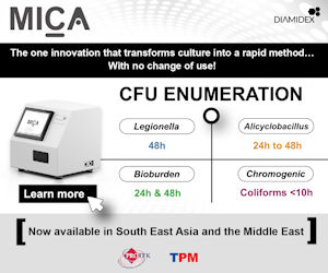 MICA Automated CFU Enumeration