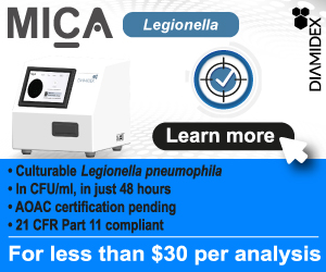 Count and Detect Culturable Legionella pnuemophila in 48 hours for less than 30 dollars