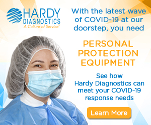 Hardy Diagnostics PPE for your COVID 19 response