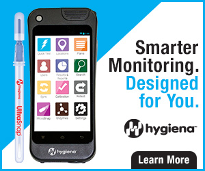 Smarter monitoring designed for you from Hygiena