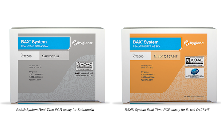 BAX Real-Time PCR Assays for Salmonella and E.coli O157
