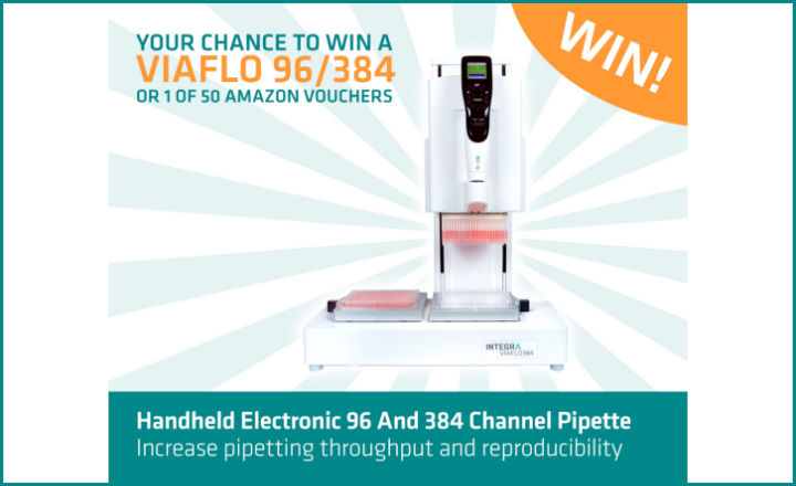 Your chance to win a VIAFLO 96/384 pipette