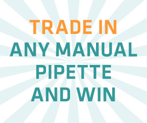 Trade in any manual pipette and win with Integra
