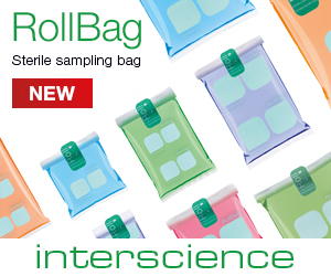 Sterile sampling Bags with Roll Top