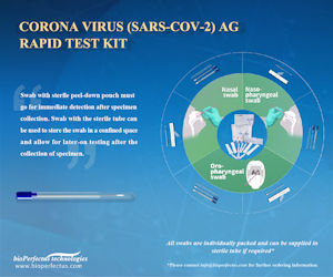 SARS-CoV-2 Rapid Antigen Test kit for the coronavirus that causes COVID-19