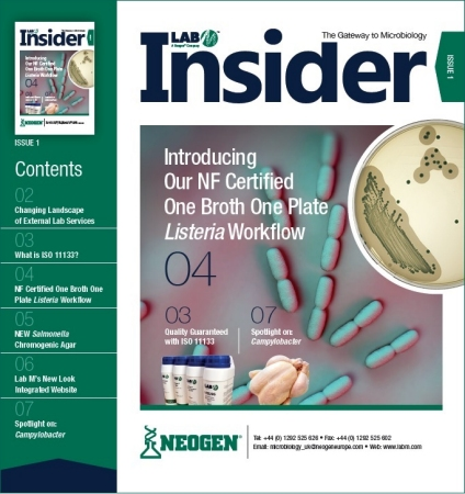Download Lab M Insider for Listeria and Campylobacter