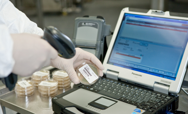 Paperless Microbiological QC