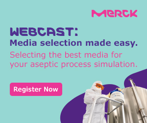 Merck webcast about selecting the right media for your aseptic process simulation