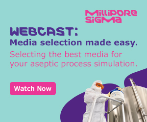 Join this Merck webcast to learn about media selection for aseptic process simulation