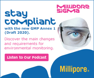 This Merck podcast explains about environmental monitoring in the context of the new GMP Annex 1