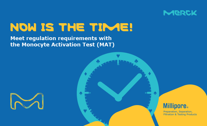 Meet regulation requirements with Monocyte Activation Test