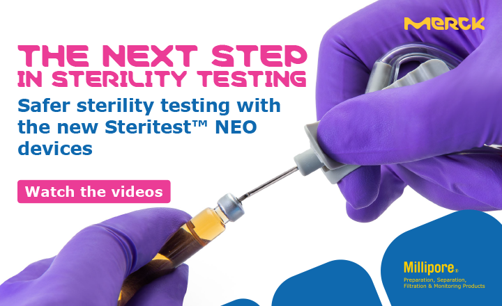 new Short Needle Sterility Testing Device