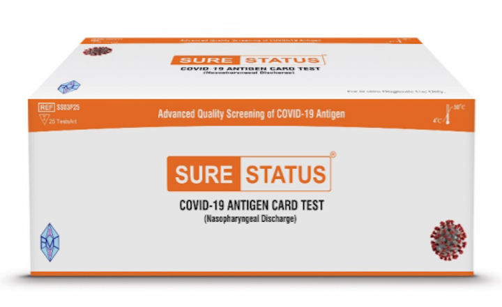 Rapid Antigen Test approved by WHO