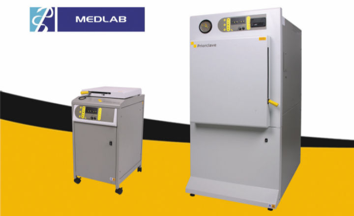 Priorclave autoclaves and sterilisers