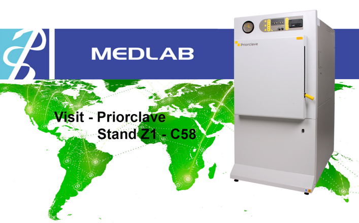 Priorclave Front Loading Autoclaves at MEDLAB