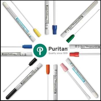 New Range of Collection and Transport Swabs from Puritan