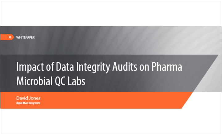 Data Integrity Audits for Pharma Microbial QC Labs
