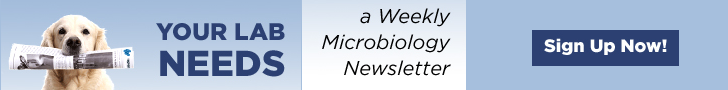 Get your weekly microbiology newsletter here