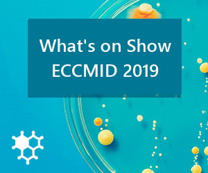 What was in the ECCMID Trade Show 2019
