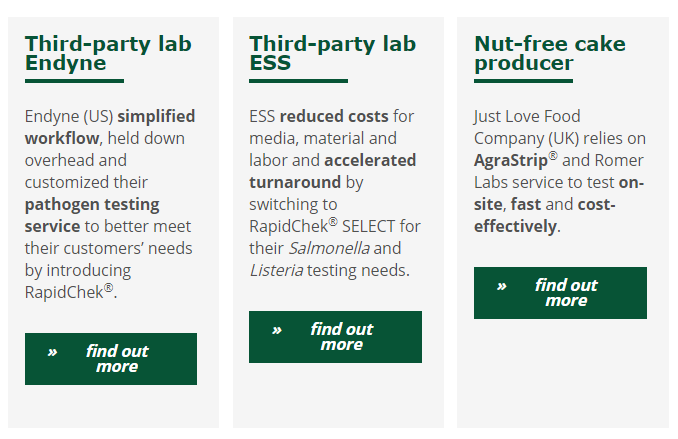 Find how other labs have benefited from changing to Romer