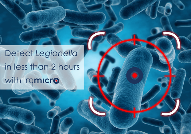 Detect Legionella in less than 2 hours including VBNC