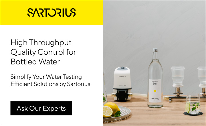 QC Testing Bottled Water
