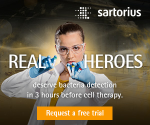 REAL HEROES deserve bacteria detection in 3 hours before cell therapy