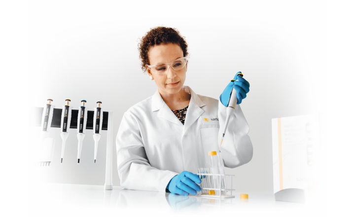 Pipetting PCR Master Mix