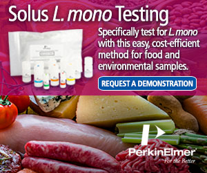 Low cost Listeria mono testing for food and swabs
