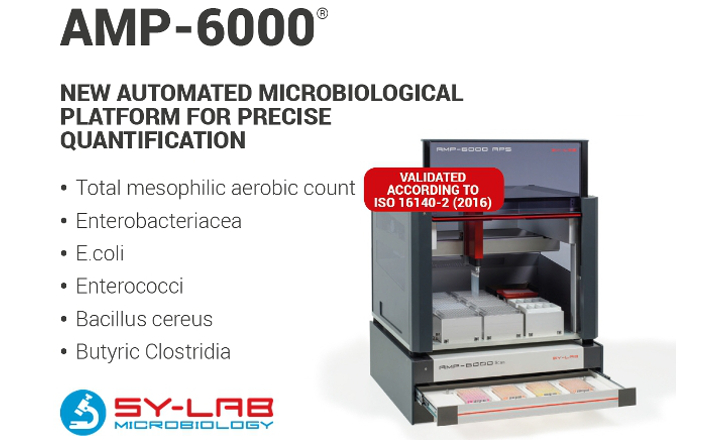 SY LAB AMP-6000 Automated Microbiological Enumeration Platform