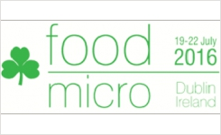 Exhibit at FoodMicro 2016