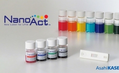 Rapid Lateral Flow Antigen Test With Enhanced Colours