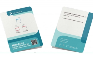 Rapid COVID-19 Antigen Test Card Suitable for On-the-Spot Testing