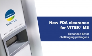 New FDA Clearance for VITEK sup reg sup MS Expanded ID for Challenging Pathogens